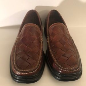 Cole Haan Nike Air full grain leather loafers Sz10
